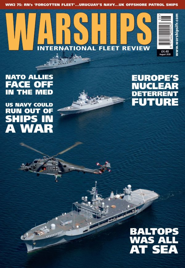 Warships IFR August 2020