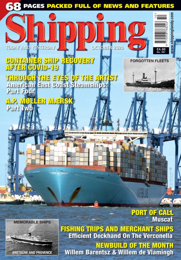 Shipping - October 2020 COVER