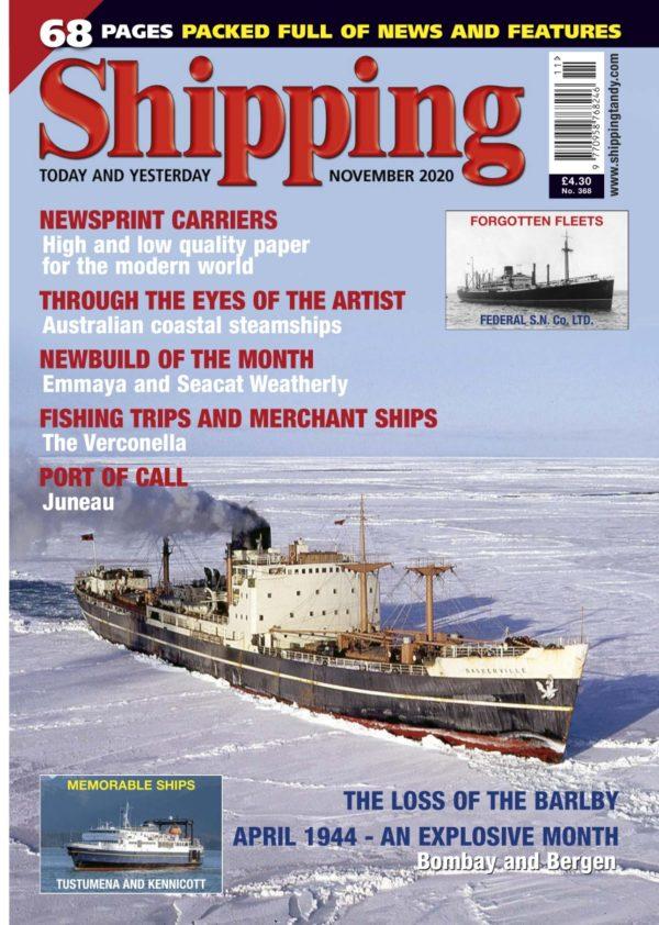 Shipping - November 2020 COVER