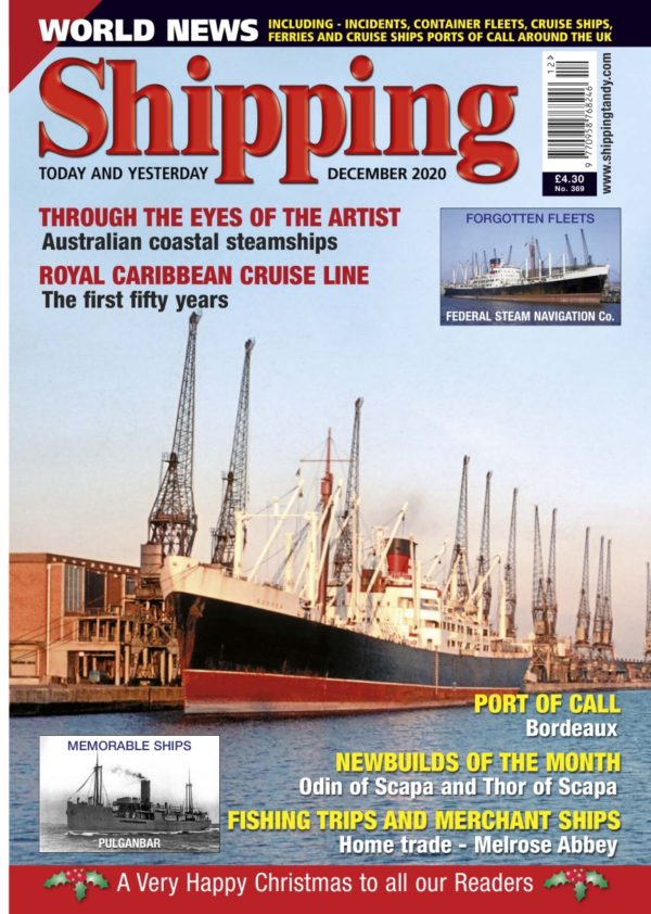 Shipping - December 2020 COVER