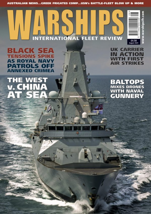 Warships IFR August 2021