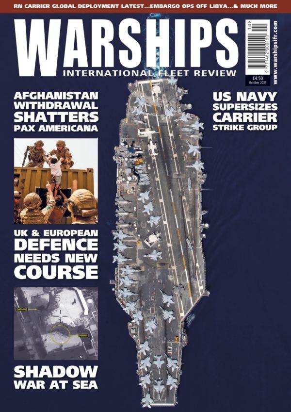 Warships IFR October 2021